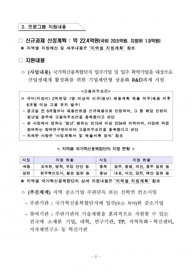 (공고문) - (제2019-306호) 2019년도 국가융복합단지 연계 지역기업 상용화 R&D 2차 지원계획 공고_페이지_02.jpg